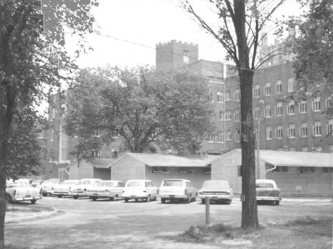 Site of the new radiation center July 1964